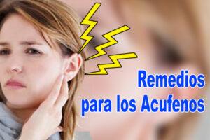 Remedios para los Acufenos