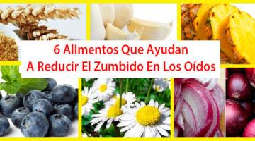 6 Alimentos Que Ayudan A Reducir El Zumbido En Los Oídos