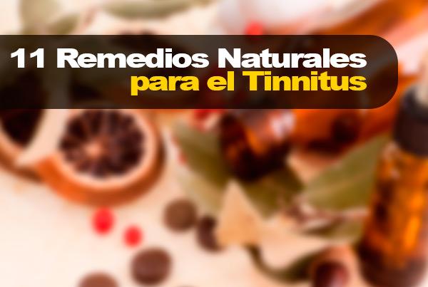 11 Remedios Naturales para el Tinnitus
